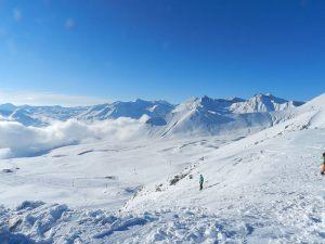 Обучение на горных лыжах